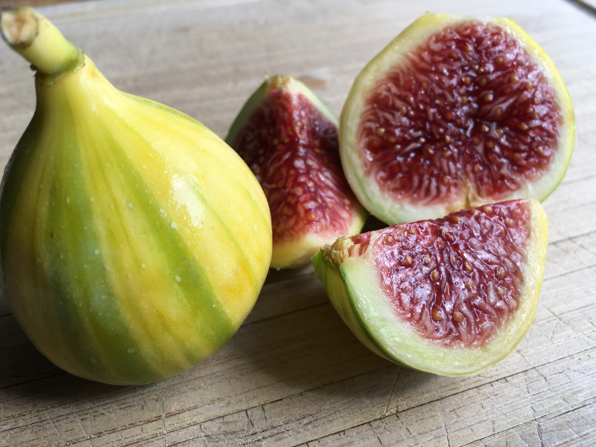 Adriatic Green Tiger Figs