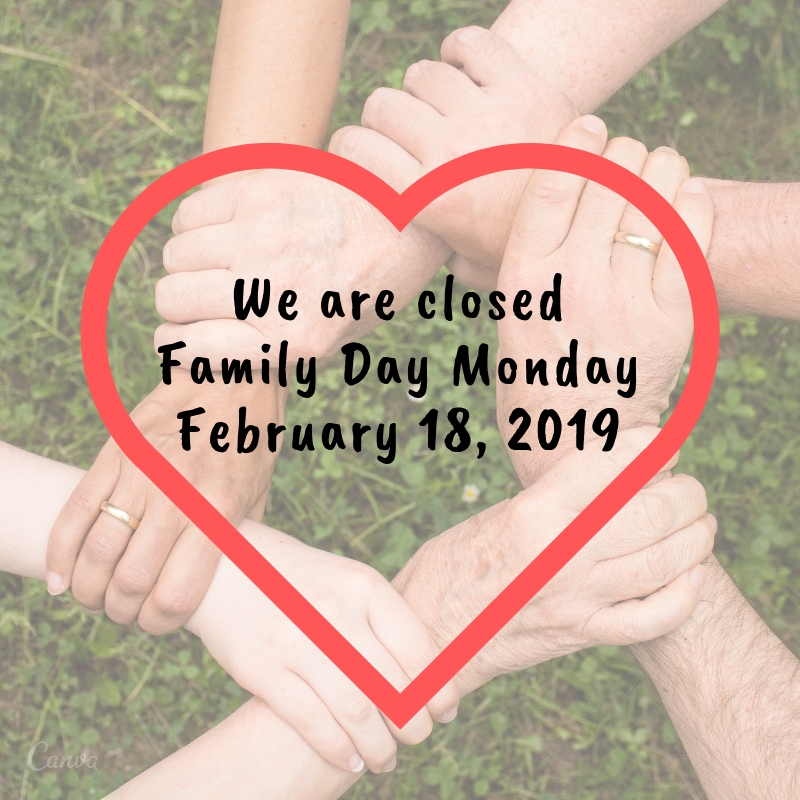 Family Day Closure