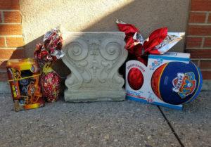 Easter Goodies - hiding spot