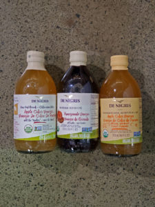 organic apple cider vinegars from De Nigris
