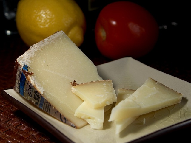 Pecorino Crotonese cheese: